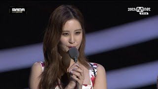 getlinkyoutube.com-MAMA Awards 2015 Best Female Group - Girls' Generation SNSD!!!