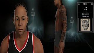 getlinkyoutube.com-NBA 2K16 - MyCAREER | ROSA'S CUSTOMIZED TATTOO SLEEVE!