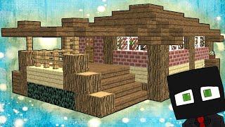 Как построить красивый дом в minecraft ?