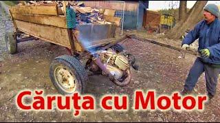 """Caruta cu motor dupa 15 ani de la """"fabricare"""" :)"""
