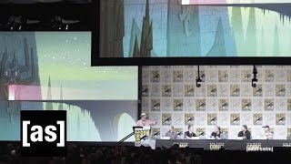 getlinkyoutube.com-Samurai Jack Panel SDCC 2016 | Robot Chicken | Adult Swim