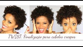 TWIST: Finalização para cabelos crespos
