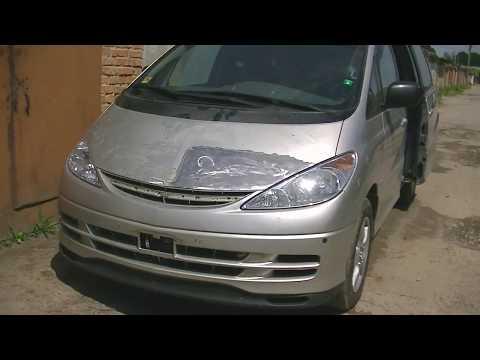 Toyota Previa . Кузовной ремонт .