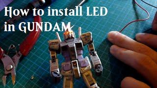 1.5 Tutorial - Install LED in RG Gundam
