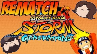 getlinkyoutube.com-Naruto Shippuden Ultimate Ninja Storm Generations: Rematch - PART 3 - Game Grumps VS