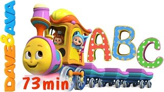 getlinkyoutube.com-Learn Colors, Numbers and ABCs. ABC Songs for Kids. Alphabet Song. Nursery Rhymes from Dave and Ava