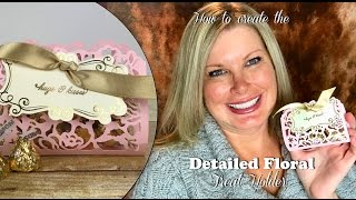 getlinkyoutube.com-How to make a Detailed Floral Treat Holder for Valentine's Day with Stampin Up