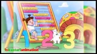 getlinkyoutube.com-Lagu Anak Indonesia - Belajar Berhitung - Kastari Animation Official