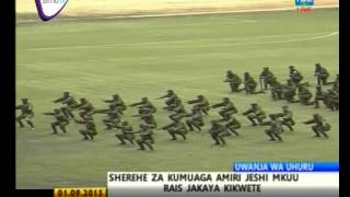 SHEREHE ZA KUMUAGA AMIRI JESHI MKUU DKT.KIKWETE- SEPTEMBER 1, 2015  TBC