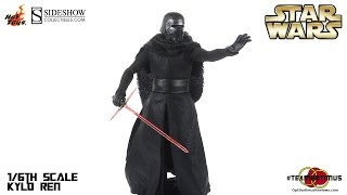 getlinkyoutube.com-Hot toys Star Wars Kylo Ren Video Review