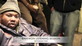 Raekwon listening session