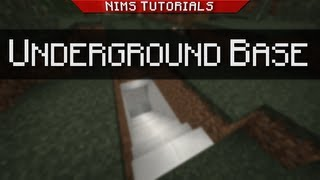 getlinkyoutube.com-NIMSTUT - Sliding Underground Base v3.0 (1.8 - 1.11+)