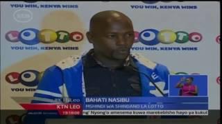 KTN Leo: Mshindi wa mchezo ya bahati nasibu ya Lotto-Geofrey Kung'u atuzwa