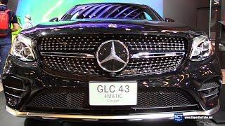getlinkyoutube.com-2017 Mercedes-AMG GLC43 4Matic Coupe - Exterior, Interior Walkaround - 2017 Montreal Auto Show