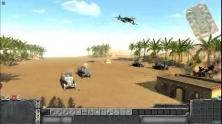 getlinkyoutube.com-Men Of War - AA Gun Testing