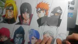 download video how to draw itachi uchiha naruto german. Black Bedroom Furniture Sets. Home Design Ideas