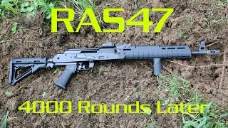 Century Arms RAS47 4000 Rounds Later - American Made AK47