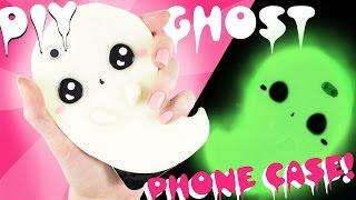 getlinkyoutube.com-DIY GHOST Phone Case - GLOWS in the DARK!