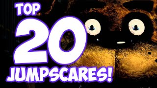 getlinkyoutube.com-Top 20 JUMPSCARES! - Five Nights at Freddy's