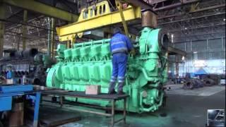 getlinkyoutube.com-Diesel Trains | How Diesel Locomotives Work? | locomotive engine production