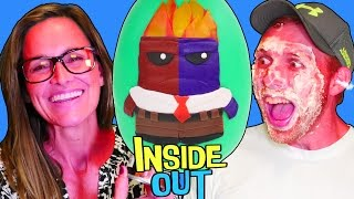 getlinkyoutube.com-Challenge! New Inside Out Color Changer Anger HUGE Play Doh Surprise Egg! Toy Guessing by DCTC