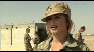 Behind The Scenes With Cheryl Cole In Afghanistan