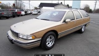getlinkyoutube.com-1994 Buick Roadmaster Estate Wagon Start Up, Exhaust, and In Depth Review