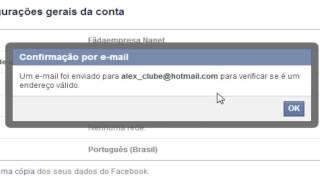 getlinkyoutube.com-Como trocar o e-mail principal do Facebook