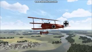 getlinkyoutube.com-Rise of Flight -Red Baron Flight 1918