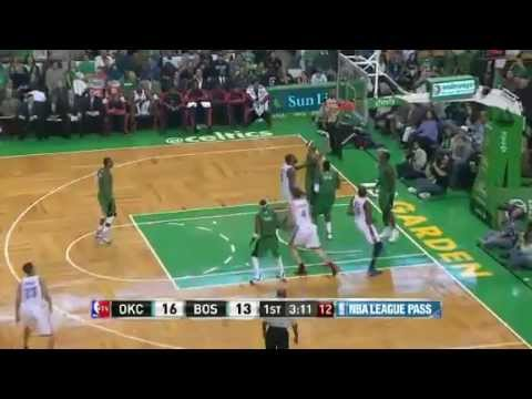 Oklahoma City Thunder vs Boston Celtics (Game Recap) November 23, 2012
