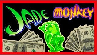 getlinkyoutube.com-Live Play on Jade Monkey Slot Machine High Limit