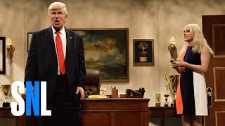 getlinkyoutube.com-Donald Trump Prepares Cold Open - SNL