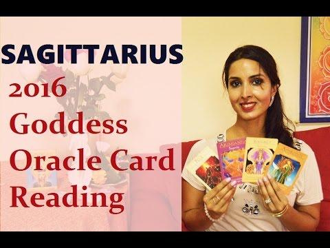 Sagittarius 2016 Goddess Oracle Card Reading