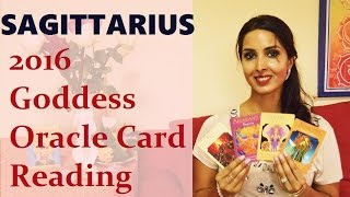 Sagittarius 2016 Goddess Oracle Card Reading