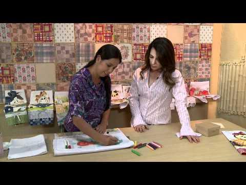 Vida Melhor - Artesanato: Pintura em tecido com giz de cera (Fernanda Araújo)