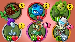 getlinkyoutube.com-Plants Vs Zombies Heroes Mega Actualización Con Nuevas Cartas