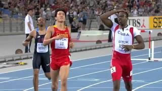 getlinkyoutube.com-劉翔 Liu Xiang 復仇戰 2011 110米欄 決賽 Final.mp4