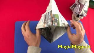getlinkyoutube.com-Cappello da muratore tutorial paper hat 折纸