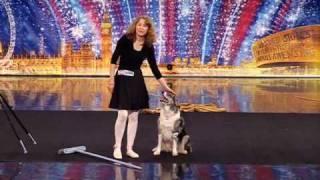 getlinkyoutube.com-ITV Britains got Talent 2010  - Tina and Chandi - Dog Act