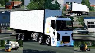 getlinkyoutube.com-ETS2 - FORD CARGO 4x2 / 6x2 / TRUCK E BITRUCK + ACESSÓRIOS + DOWNLOAD