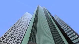 getlinkyoutube.com-[マインクラフト]O-tsuの都市開発Part1オフィスビル