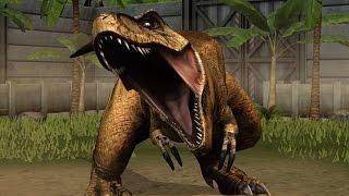 getlinkyoutube.com-Jurassic World - The Game - T-Rex, Tyrannosaurus Rex