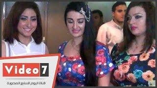 """getlinkyoutube.com-بالفيديو.. أول ظهور لـ شقيقة """"صافيناز"""" فى عرض """"الحرب العالمية الثالثة"""""""