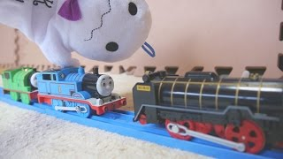 getlinkyoutube.com-おもちゃアニメ プラレール トーマスとパーシーとおばけトンネル