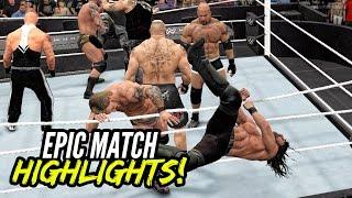 getlinkyoutube.com-WWE 2K17 Royal Rumble 2017 | Epic Match Highlights!
