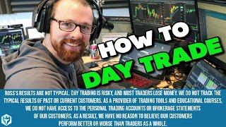 getlinkyoutube.com-How to Day Trade a Small Account from $1k to $8653 in 1 Month: Class 2 of 12