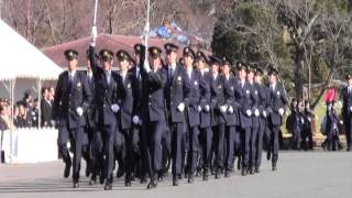 getlinkyoutube.com-茨城県警察年頭視閲式 警察官行進  その3