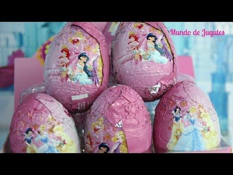 Huevos Kinder Sorpresa De las princesas Disney|Kinder Suprise Eggs Mundo de Jugutes