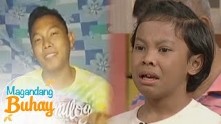 getlinkyoutube.com-Magandang Buhay: Awra cries from his popshie's message to him