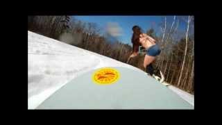 getlinkyoutube.com-Bikini Snowboarding